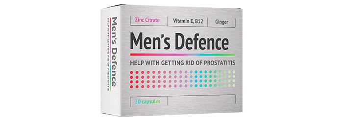 Men's Defence: un rimedio professionale contro la prostatite