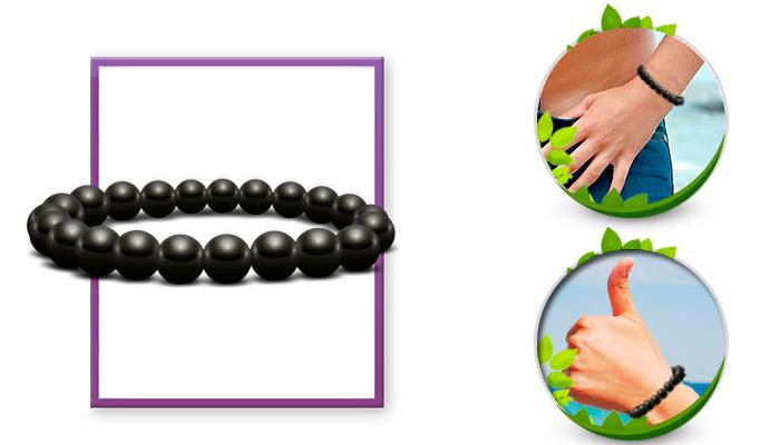 Bracelet Bianchi: il braccialetto in shungite nera per una lunga vita!
