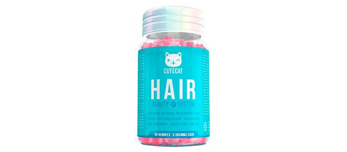 Cutecat per la crescita e il rafforzamento dei capelli: Il risultato è già visibile dopo un mese dell'uso!