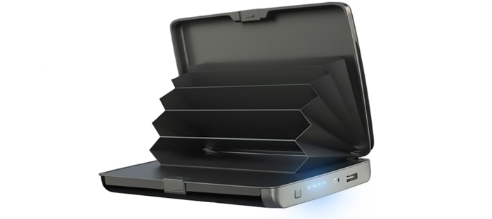 E-Charge Wallet: portafoglio compatto che consente di caricare il telefono in qualsiasi momento, ovunque tu sia