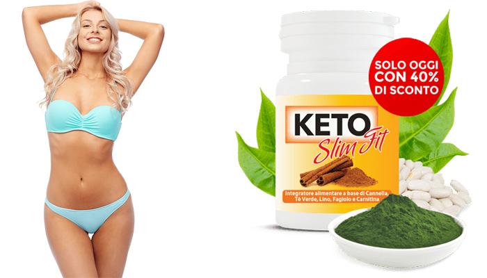 Keto Slim Fit per la perdita di peso: il migliore alleato della dieta Keto!
