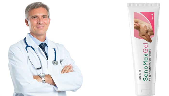 SenoMax Gel per l'aumento del seno: aumenta il tuo seno fino a 2 misure