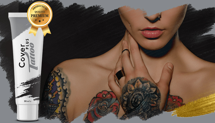 CoverPlus Tattoo: crema per mascherare i tatuaggi