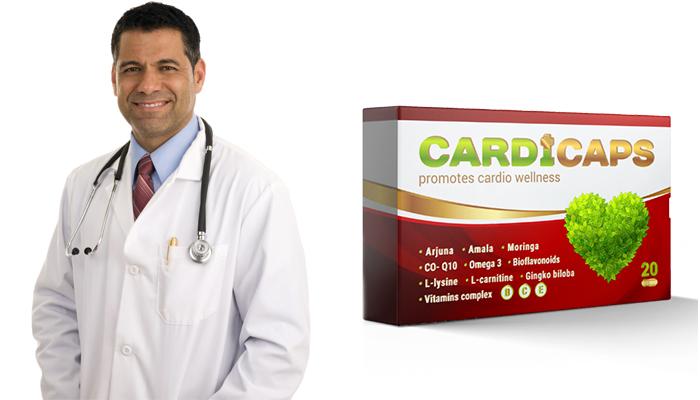 CardiCaps contro l'ipertensione: pressione stabilizzata già dalla prima assunzione e per sempre