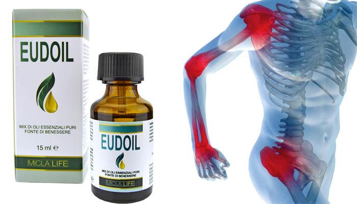 Eudoil Oli Essenziali: risolve la maggior parte dei problemi articolari