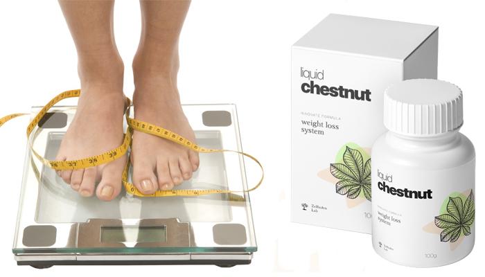 Liquid Chestnut: riduce il peso senza diete e allenamenti