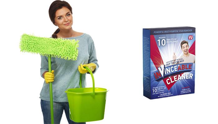 Invinceable Cleaner per la pulizia della casa: sostituirà un sacco di detergenti inefficaci e potrai risparmiare