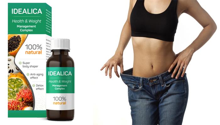 Idealica: il primo prodotto dimagrante con l'effetto liposuzione