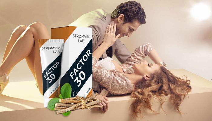 Factor 30: crema №1 per aumentare il pene