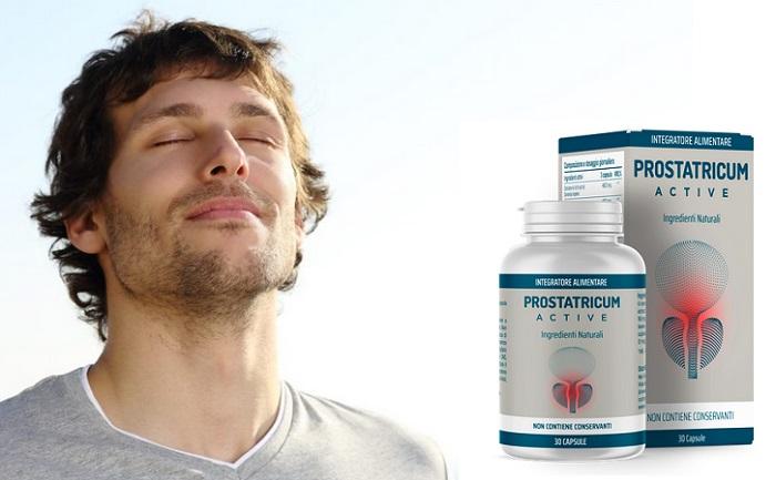 Prostatricum Active dalla prostatite: il rimedio N.1 in Italia per eliminare i problemi alla prostata!