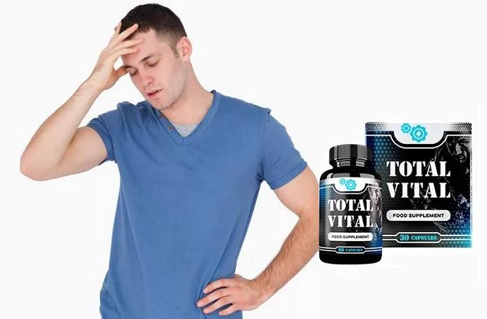 Total Vital dalla prostatite: risparmia la salute degli uomini per molti anni!