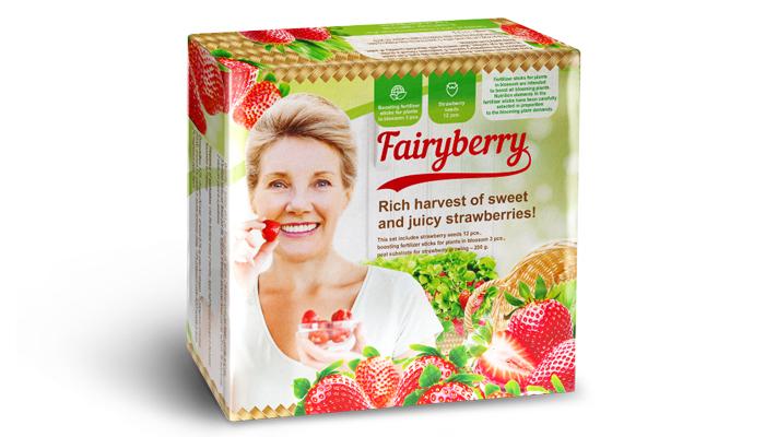 FairyBerry: fragole fertili tutto l'anno gia' dopo un mese!
