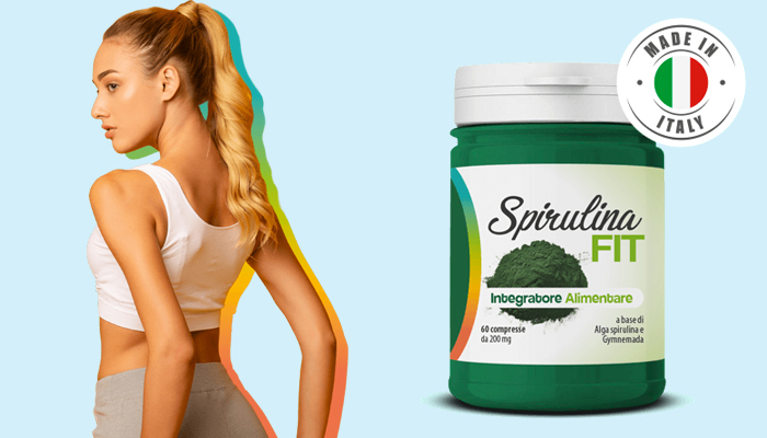 Spirulina Fit per perdita di peso: la soluzione per problemi di sovrappeso e metabolismo