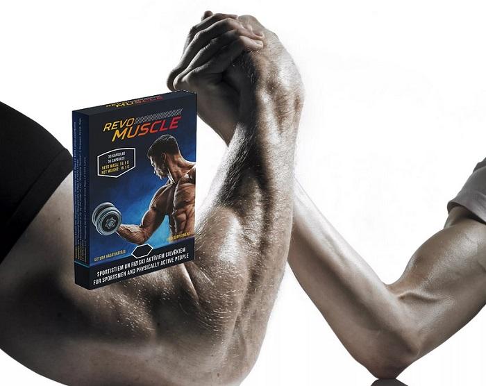 REVOMUSCLE per la costruzione muscolare: il risultato rapido e efficace!