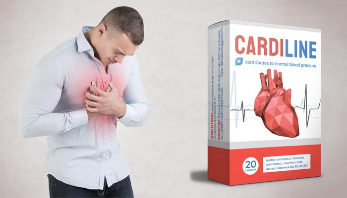 Cardiline contro l'ipertensione: pressione stabilizzata già dalla prima assunzione e per sempre