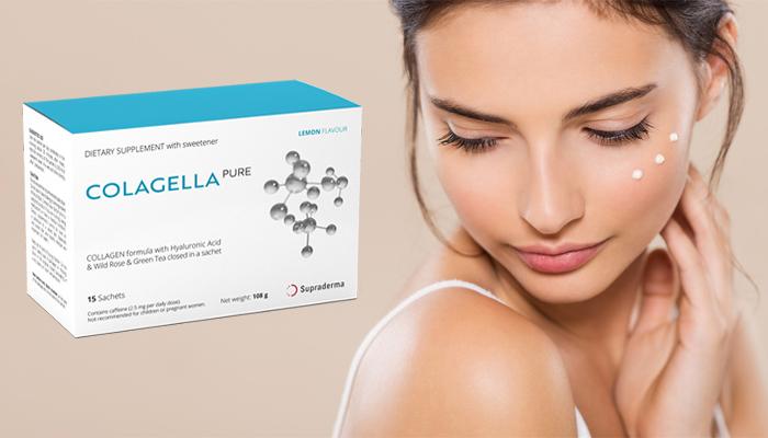 Colagella Pure: eliminerai il 98% delle rughe e ringiovanirai la pelle del viso e del collo di almeno 15 anni in 28 giorni