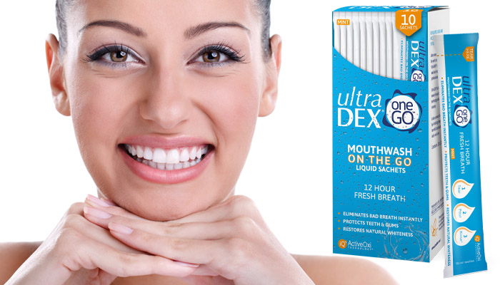 Ultra DEX per i denti: sbiancamento, cura e eliminazione dell'alito cattivo