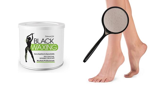 BLACK WAXING per la depilazione: pelle liscia in 5 minuti!