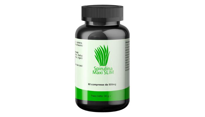 Spirulina MAXI SLIM per perdita di peso: il prodotto più efficace per mettersi in forma
