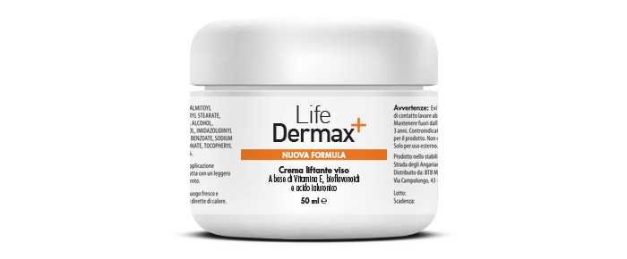 Life Dermax anti rughe: effetto lifting e anti-age