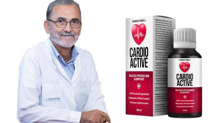 CardioActive contro l'ipertensione: normalizza la pressione sanguigna e il benessere sin dalla prima assunzione!