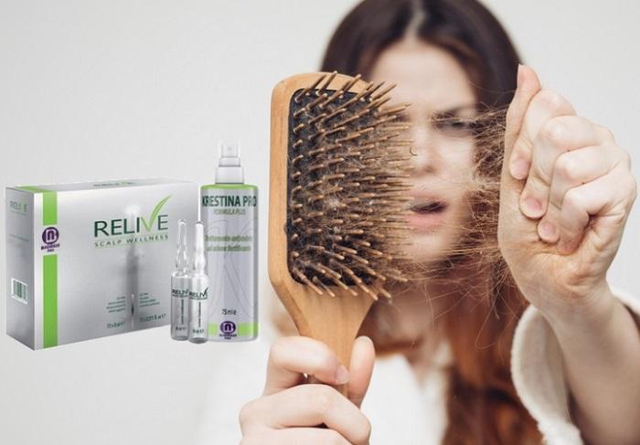 Krestina PRO dalla perdita dei capelli: aiutano in 28 giorni a far ricrescere i capelli!
