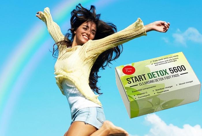 Start Detox 5600 dalle tossine: espellerai 2 kg di tossine e metalli pesanti in 1 notte!
