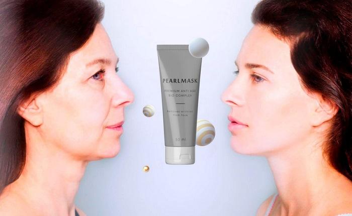Pearl Mask per il ringiovanimento: pelle giovane in pochi minuti!