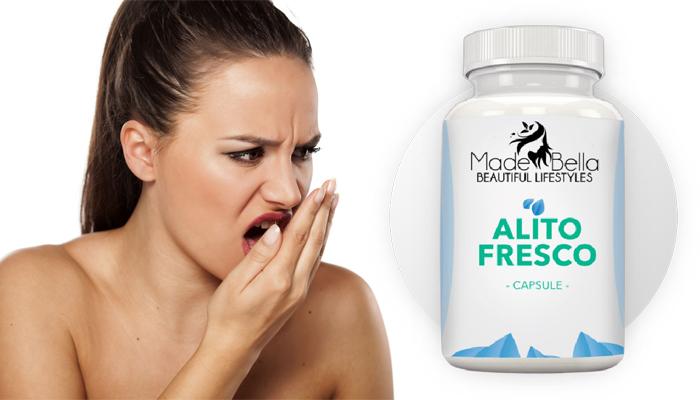 Alito Fresco contro l'alitosi: bocca sana e pulita
