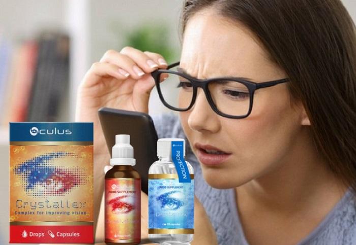 CRYSTALLEX per ripristinare la vista: tornate a vedere bene con un ciclo!