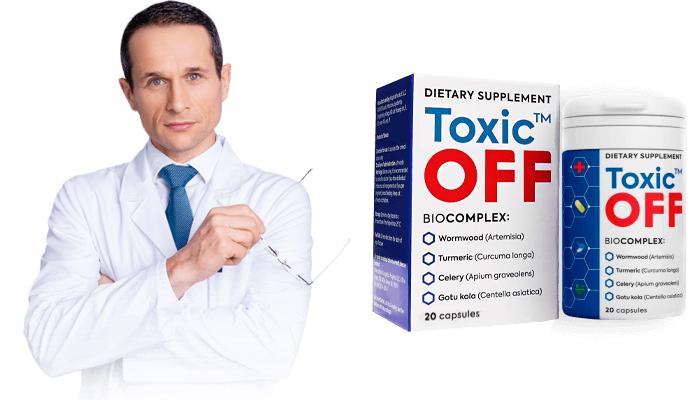 Toxic OFF contro i parassiti: depura il corpo da parassiti e lo libera da papillomi e verruche