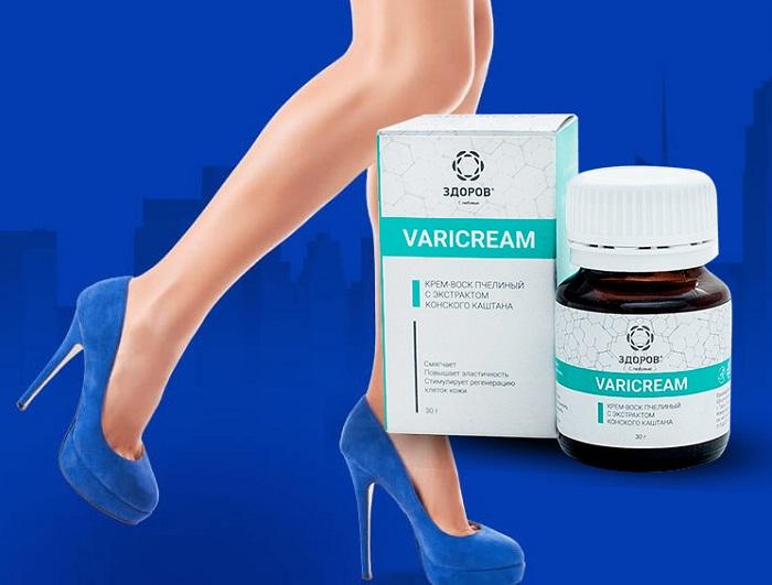 VARICREAM vene varicose: sbarazzarsi del dolore alle gambe!