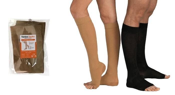 VaricoSocks dalle vene varicose: allevia il dolore e la gravità nelle gambe!