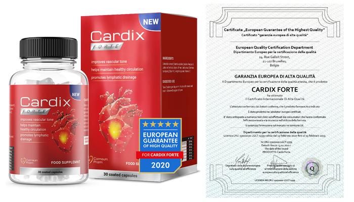 Cardix Forte: ripulisci le tue arterie in soli 3 mesi e proteggi il tuo cuore dall'infarto