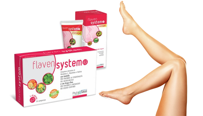Flaven System contro il gonfiore delle gambe: riduci il gonfiore delle gambe con rapido sollievo