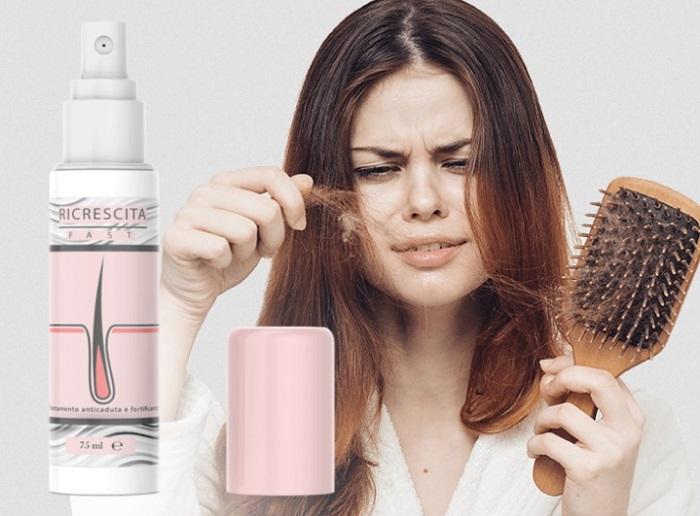 Ricrescita Fast PLUS dalla perdita dei capelli: completo ripristino dei capelli per 28 giorni!