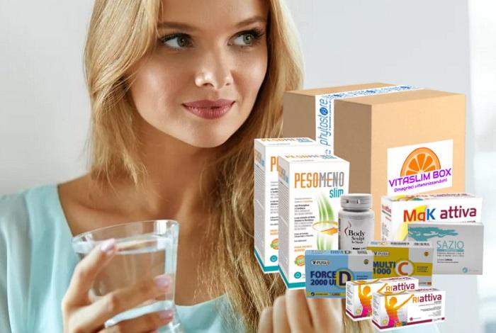 VITASLIM BOX per rafforzare l'immunità: fai il pieno di Vitamine!