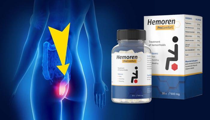 Hemoren ProComfort contro le emorroidi: sbarazzati delle emorroidi una volta per tutte!