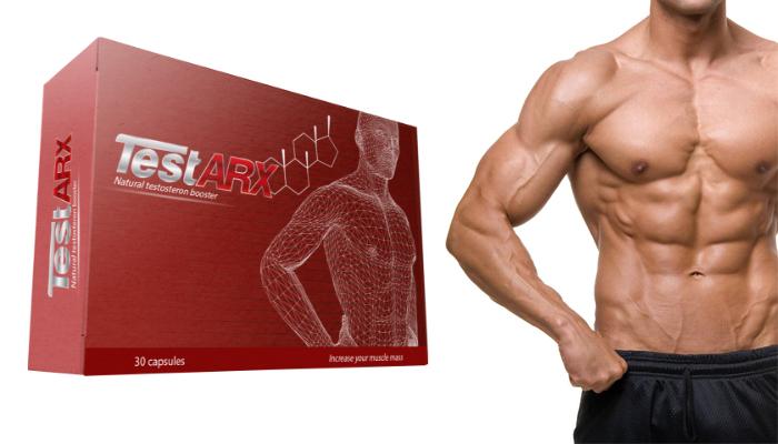 TestARX per la crescita muscolare: in 1 mese otterrai 10 kg di muscoli duri come una roccia senza dover fare palestra e seguire una dieta