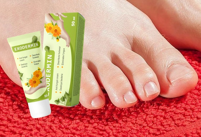 Exodermin dal fungo dei piedi e delle unghie: la forza distruttiva della natura contro i funghi della pel!