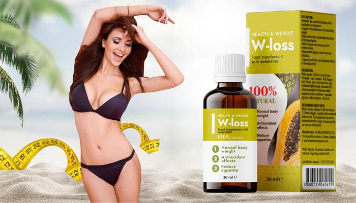 W-LOSS per la perdita di peso: aumenta il numero di chetoni nel corpo e avvia la combustione dei grassi