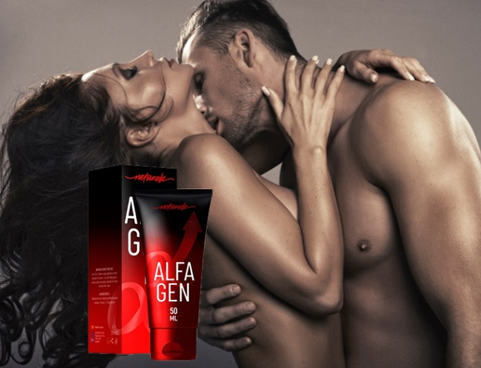 Alfagen per l'ingrandimento del pene: trasforma un uomo in un macho sfrenato!
