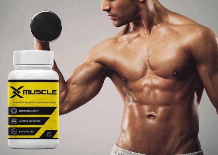X-Muscle per aumentare la massa muscolare: ottieni i muscoli e sbarazzati dei grassi in 1 mese!