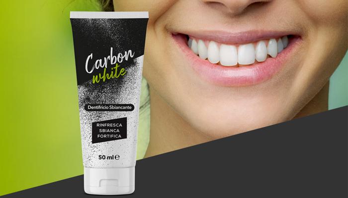 CARBON WHITE per lo sbiancamento dei denti: tutti meritano un sorriso bianco