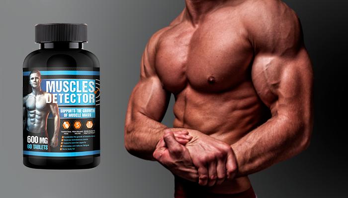 Muscles Detector per aumentare la massa muscolare: massa muscolare asciutta indipendentemente dal peso, dall'età o dallo stile di vita