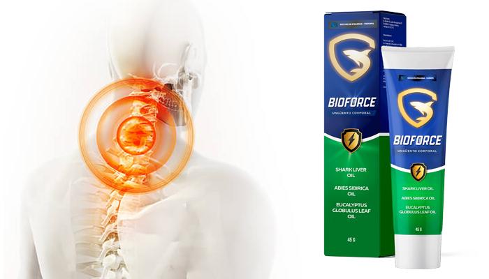 Bioforce per le articolazioni: sbarazzati dei dolori articolari!