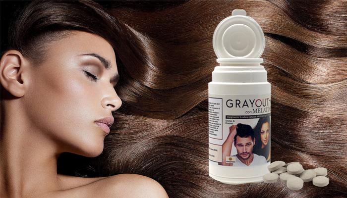 GrayOut contro i capelli grigi: addio capelli bianchi o grigi!