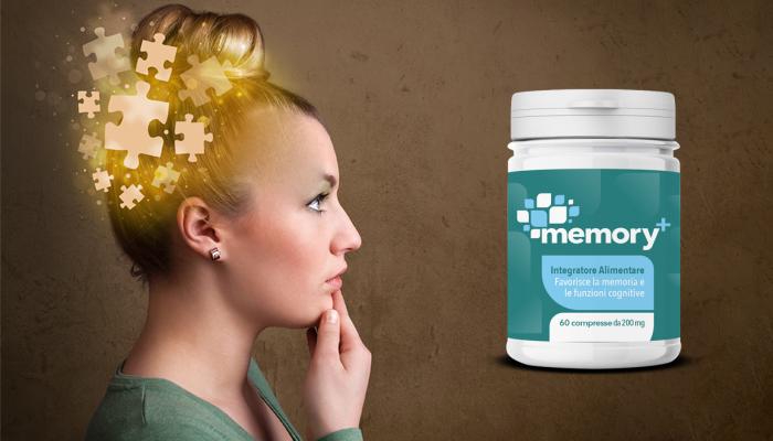 Memory+ per migliorare la memoria: l'integratore perfetto per la tua mente