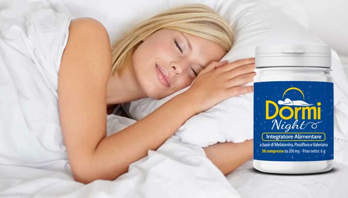 Dormi Night per dormire: dormi un sonno finalmente tranquillo e ininterrotto