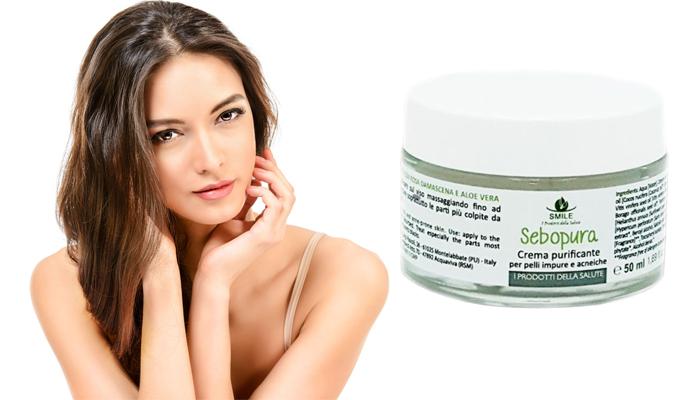 Sebopura contro l'acne: riduce l'acne e il sebo del viso